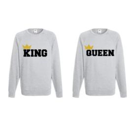 Sweater King & Queen + Kroontje