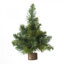 kunstboom groene bloementafel 25cm