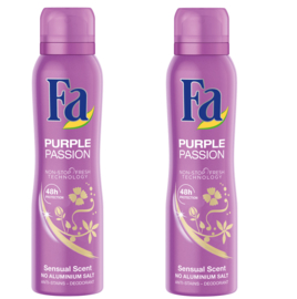 Fa Women Deodorant Purple Passion 2Pack