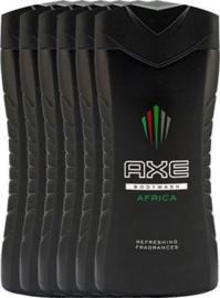 Axe Shower Gel 6x250ml Afrika