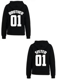 Hoodie Brother & Sister