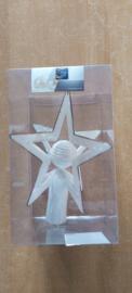 Kunstmatige fir tree crest 3d ster bal