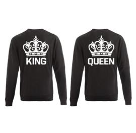 Sweater King & Queen + Kroon