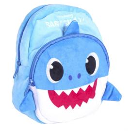 BABY SHARK - rugzak kleuterschool karakter, blauw