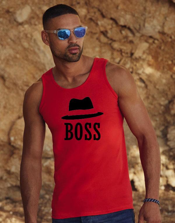 Boss Tanktop Heren