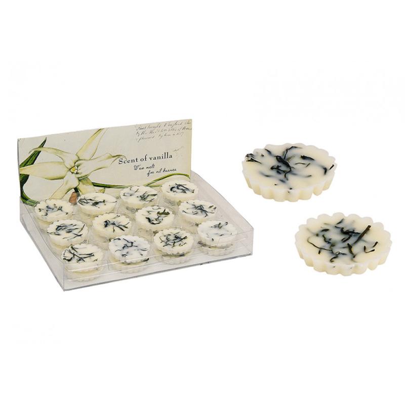 Geurige wax voor vanillegeur lampen (per 24stuks)
