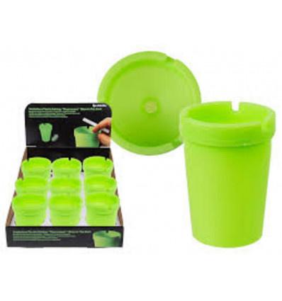 Smokeless Asbak Plastic, TL-licht doos van 12stuks