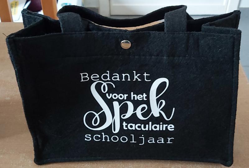 Vilten Tas Bedankt voor het Spek taculaire schooljaar