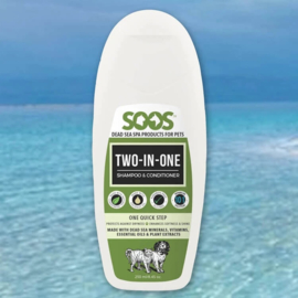 Soos Pets Two-In-One Shampoo & Conditioner   250ml (BV)