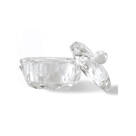 Crystal Round Dappen Dish Large