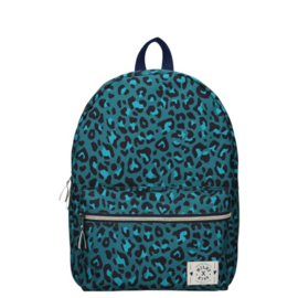 Milky Kiss Rugzak Stay Cute Leopard Green