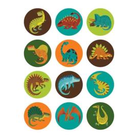 Mudpuppy Mini Memory Game - Mighty Dinosaurs