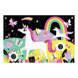 Mudpuppy Glow In The Dark Puzzel Unicorns - 100 stukjes