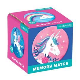 Mudpuppy Mini Memory Game - Unicorn Magic