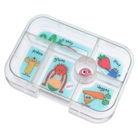 Yumbox Original Tray Funny Monsters