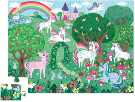 Crocodile Creek Vloerpuzzel Unicorn Dreams - 36 stukjes