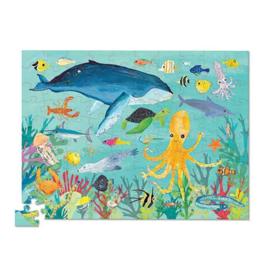 Crocodile Creek Puzzel Ocean Animals - 100 stukjes