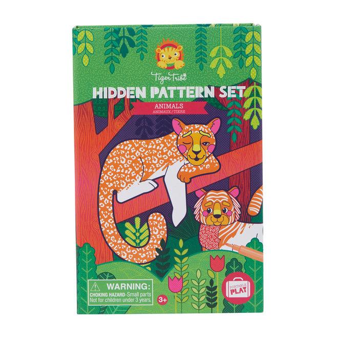 Tiger Tribe Kleurset Hidden Pattern