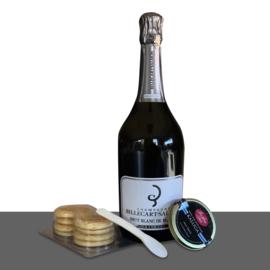 Kaluga kaviaar + Billecart Salmon Blanc des Blancs Grand Cru | Pakket