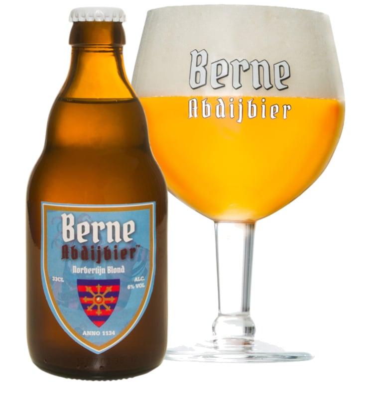 Norbertijn Blond 6-pack: 6 flesjes a 33cl (zonder het drinkglas)