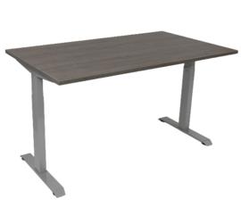 Economy T-poot frame/bureau (Max. 160 cm. breed) grijs