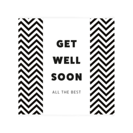 Chocolade wens Get well soon