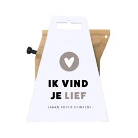 Coffee brewer - IK VIND JE LIEF