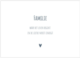 Kaart - FAMILIE
