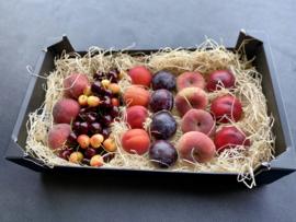 Top steenfruit met bv. Perziken, Nectarines, Pruimen, Kersen en Abrikozen.
