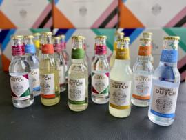 Double Dutch Mixers, 10 flesjes met verschillende smaken in 1 doos.