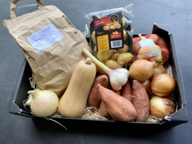 DE BASIS ! Hoeve aardappel, kriel, sweet potato, sjalot, ui, look , ...
