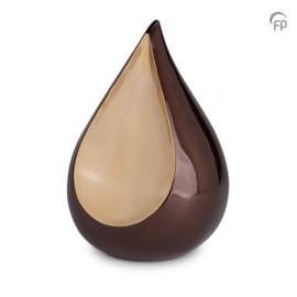FPU 101 Metaal urn Teardrop