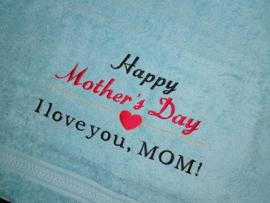 Handdoek - Happy Mother's Day