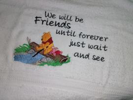 Handdoek - We will be friends