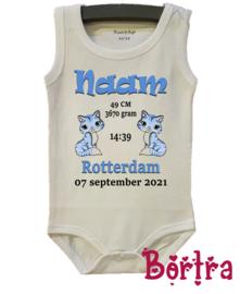 Geboorte Romper Kitten