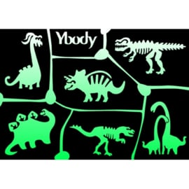Ybody A5 stencil Dinosaur