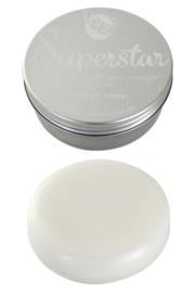 Brush soap in blik (70 gram) Superstar