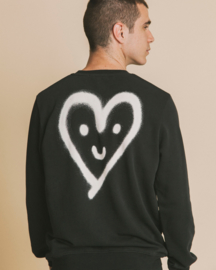 Thinking Mu Sweatshirt Cutre Heart