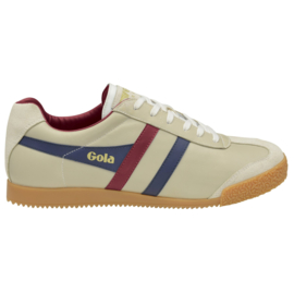 Gola Harrier Sneaker Ecru/ Navy/ Burgundy