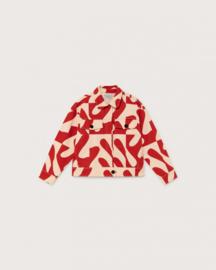 Thinking Mu Zabawa Red Turan Jacket