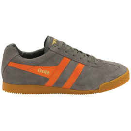 Gola Harrier Sneaker Ash/ Moody/ Orange