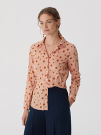 Nice Things Blouse Kreuk Dots