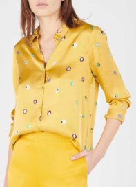 Nice Things Blouse Satinada Swedish Dots