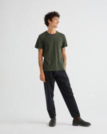 Thinking Mu basic Green Hemp T-shirt