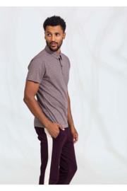 4FF overhemd Groove Move bruin