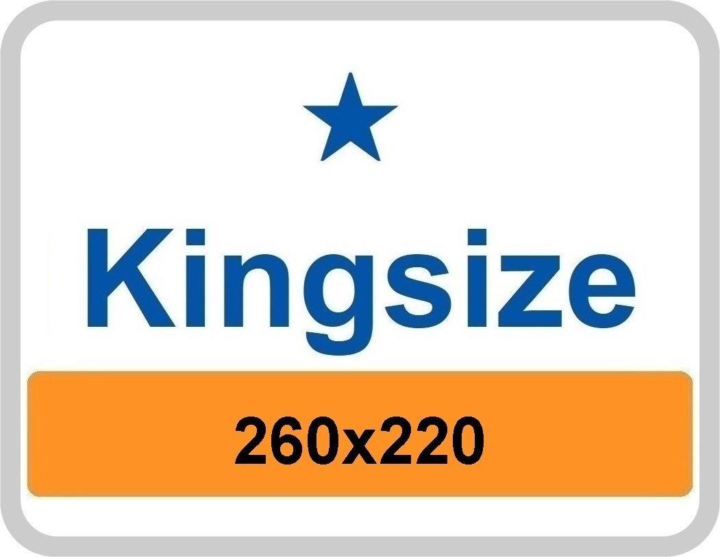 King Size dekbedovertrek 260x220