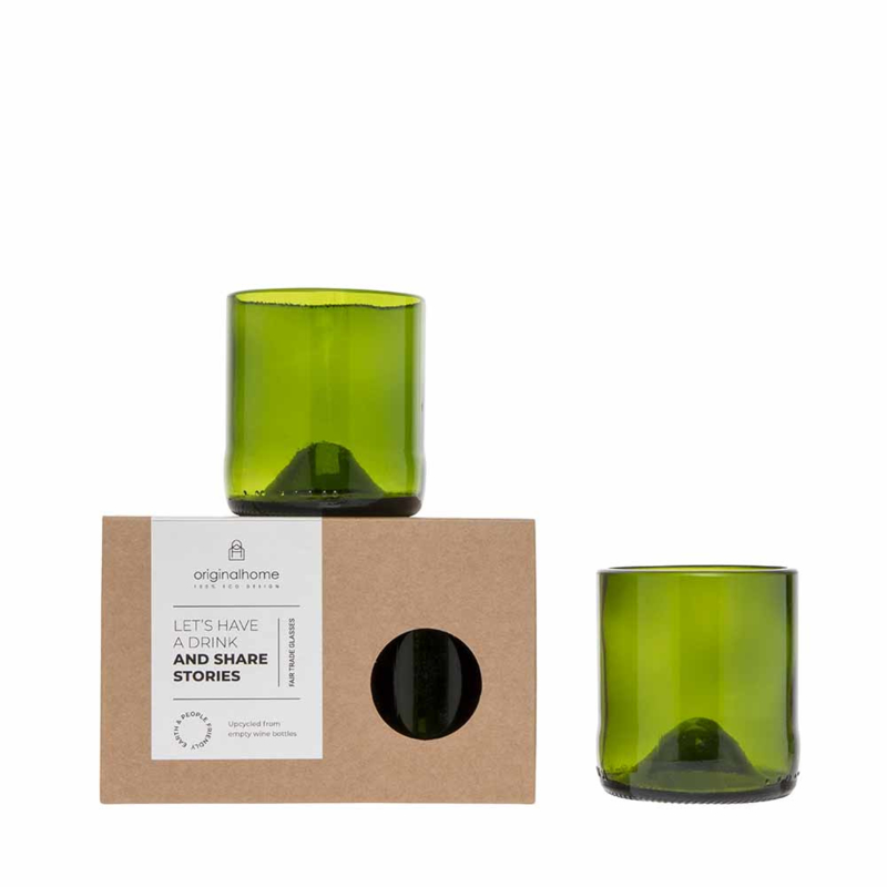 GLASS SET ORIGINAL HOME - maat S