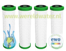 Voordeelpakket: 4 EWO Premium Filter Cartridge