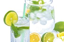 Drink dagelijks voldoende water