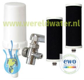 Voordeelpakket: 1 EWO Vitality Filter en 2 extra EWO Vitality Filter Cartridges